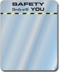 Safety Starts with You Slogan Mirror